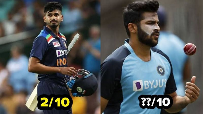 Shreyas Iyer had a forgettable day with the bat in the Vijay Hazare Trophy