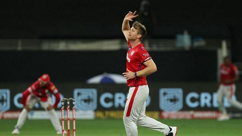 Jimmy Neesham was released by the Punjab Kings ahead of the 2021 IPL auction