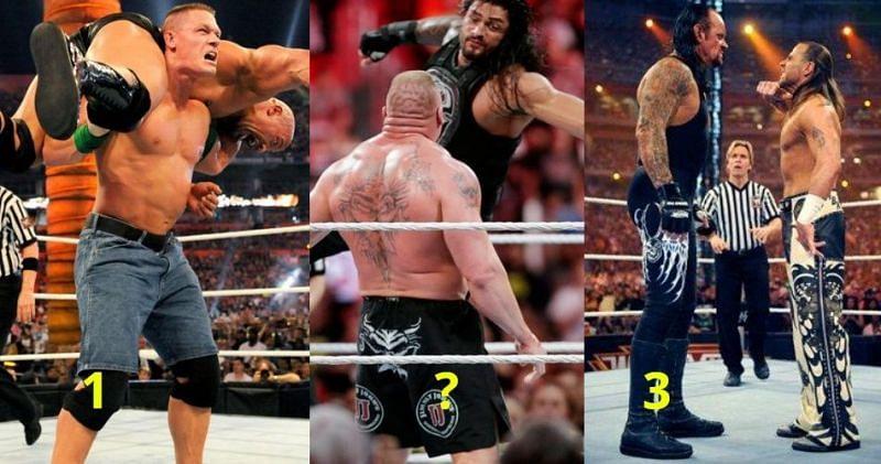 WWE Wrestlemania के सबसे यादगार मेन इवेंट्स
