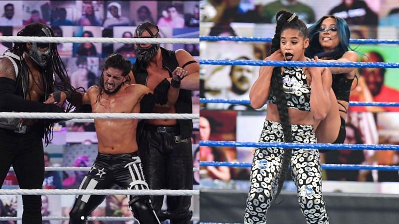 There were many big questions from WWE this week