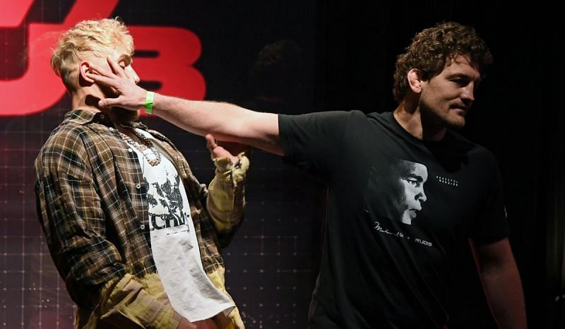 Jake Paul and Ben Askren
