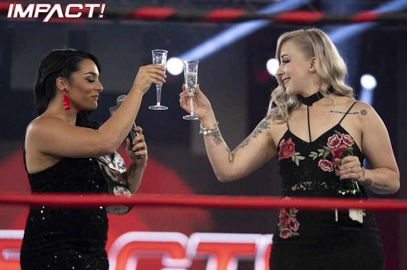 Deonna Purrazzo says one of her closest friends brought her to IMPACT Wrestling.