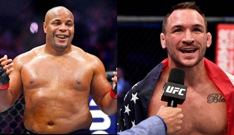 Daniel Cormier (left); Michael Chandler (right)