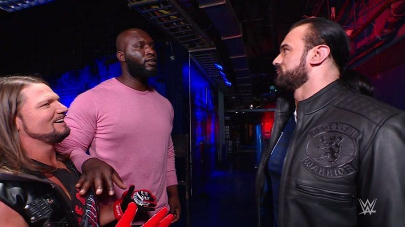 Drew McIntyre was unusually paranoid on RAW