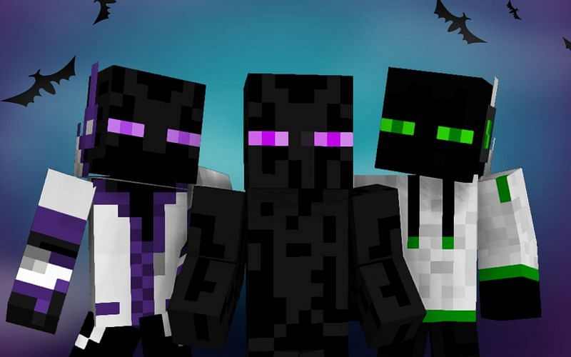 Minecraft Enderman artwork (Image via apk-dl)