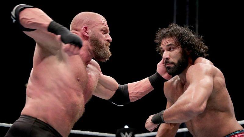 Triple H vs. Jinder Mahal