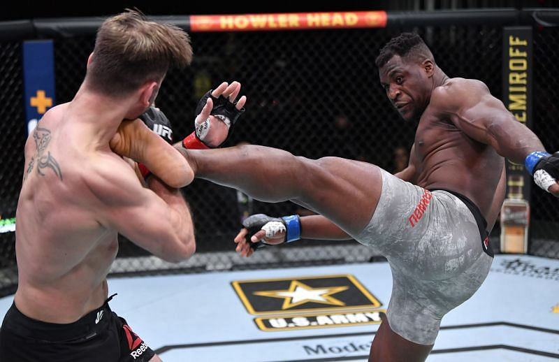 Francis Ngannou exacted his revenge on Stipe Miocic after 3 years