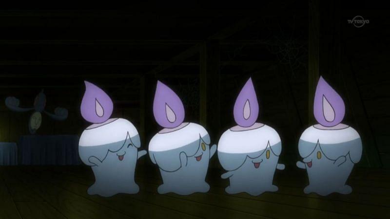 Litwick line-up (Image via The Pokemon Company)