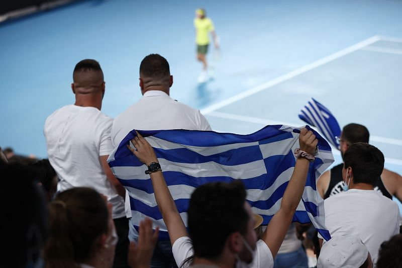 Stefanos Tsitsipas will miss the support of his Greek fans at Miami