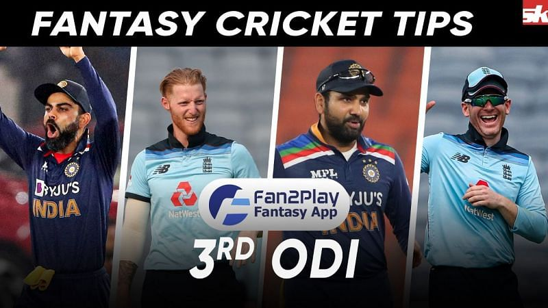 IND v ENG 3rd ODI Fan2Play Suggestions