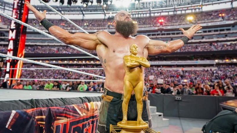 Braun Strowman last eliminated SNL Weekend Update anchor Colin Jost to win the Andre The Giant Memorial Battle Royal in 2019