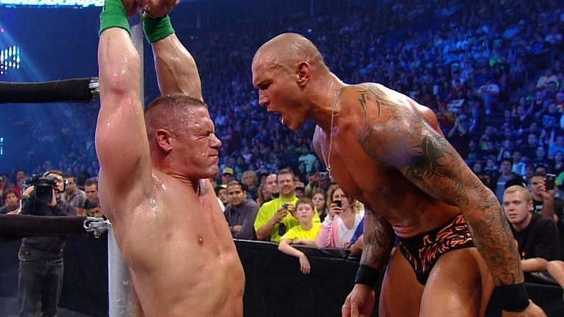 John Cena and Randy Orton are long-term rivals