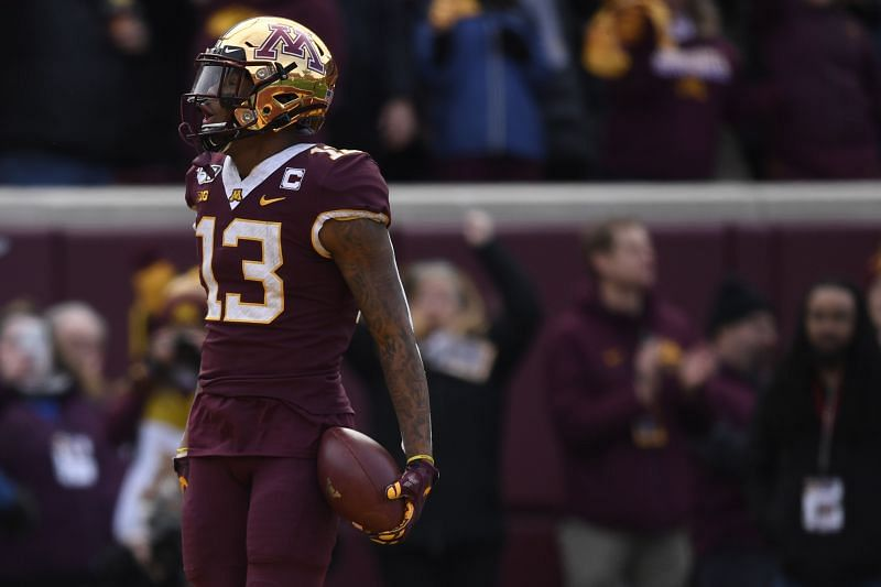 Minnesota Golden Gophers WR Rashod Bateman
