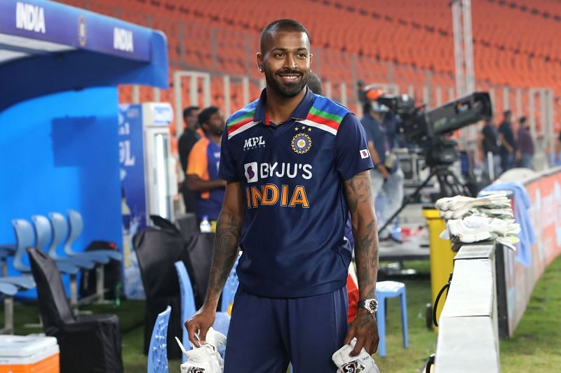 Hardik Pandya gave a decent account of himself with the ball
