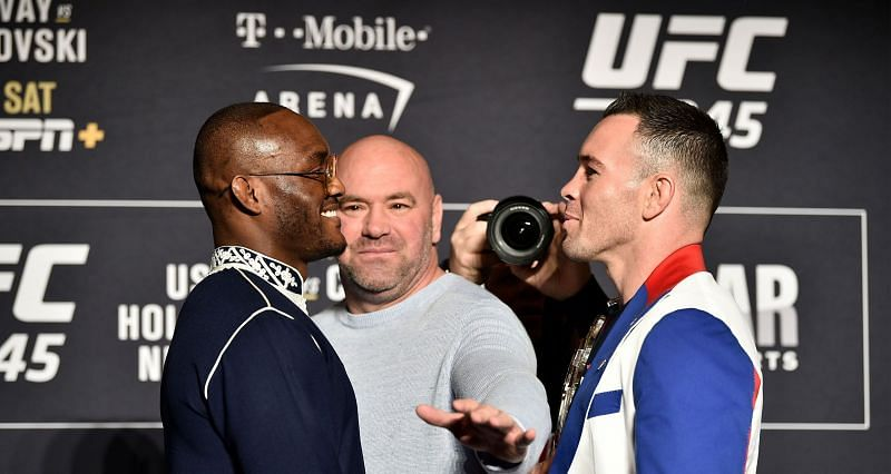 Kamaru Usman (Left) vs Colby Covington (Right) is one of the most heated competitive rivalries among active UFC fighters