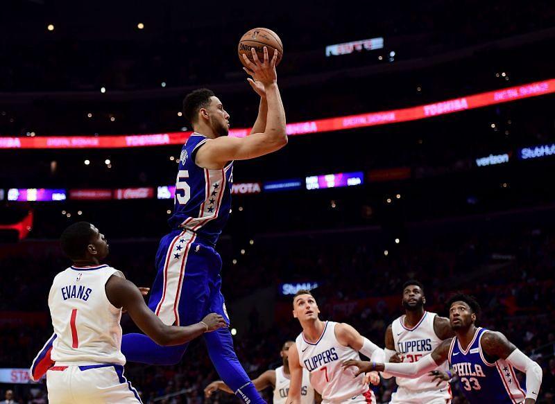 Ben Simmons vs the LA Clippers