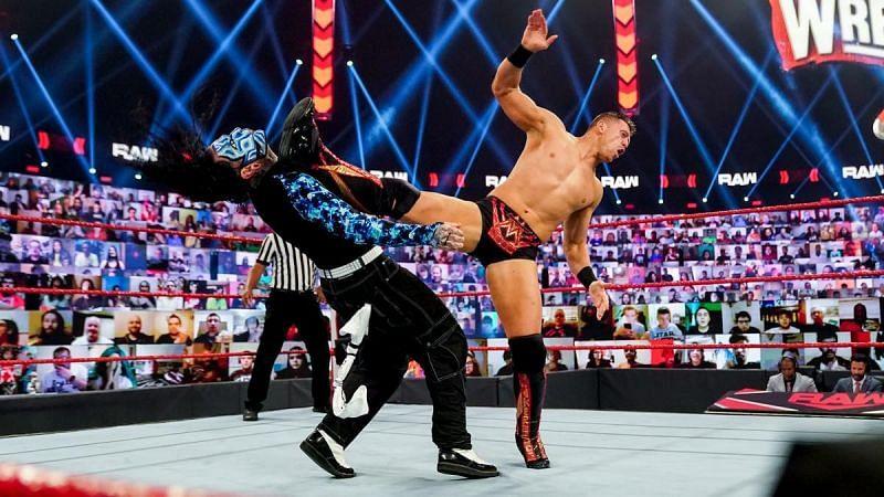 Jeff Hardy lost to The Miz on RAW