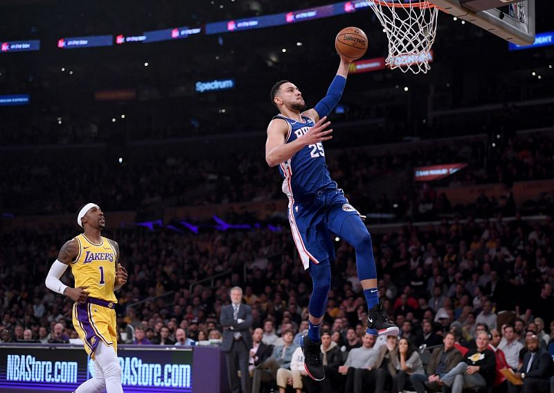The Philadelphia 76ers and the LA Lakers will face off on Thursday