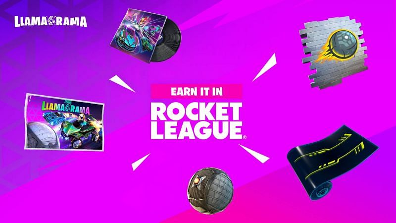 All rewards available in Fortnite Llama Rama event (Image via Epic Games)
