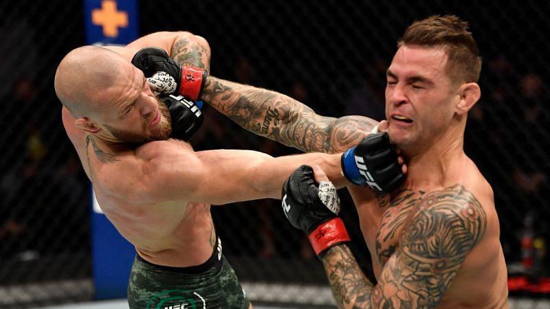 Conor McGregor vs. Dustin Poirier at UFC 257.