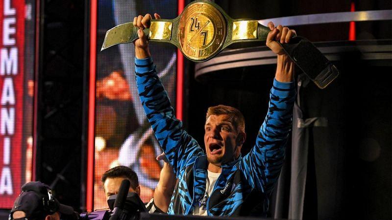 Rob at WrestleMania 36.