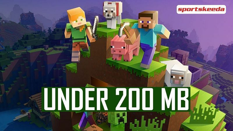 Android games like Minecraft under 200 MB