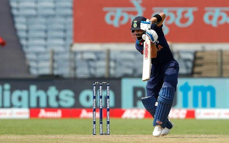 Captain Kohli walked back for 7