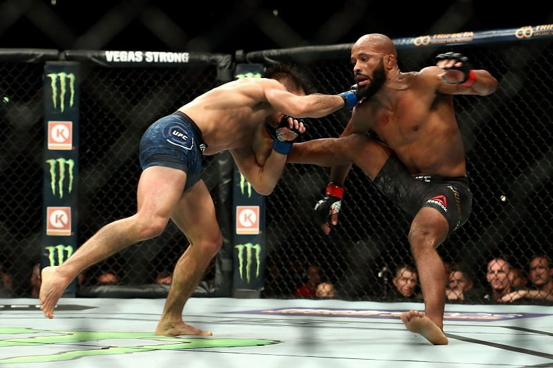 UFC 227 Dillashaw v Garbrandt 2. Photo: Joe Scarnici/Getty Images.