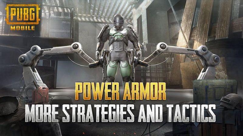 The Power Armor Mode PUBG Mobile [Image Via YouTube]