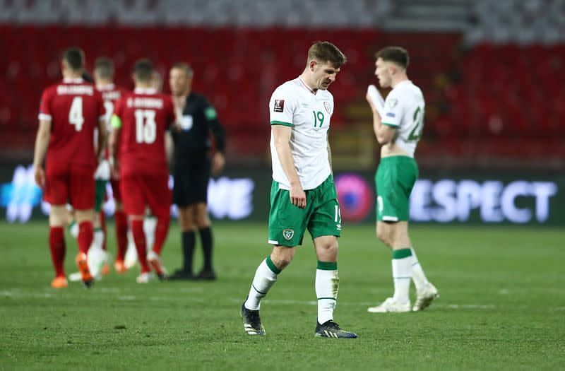 Ireland were condemned to a 3-2 defeat to Serbia in the opening game on Wednesday night
