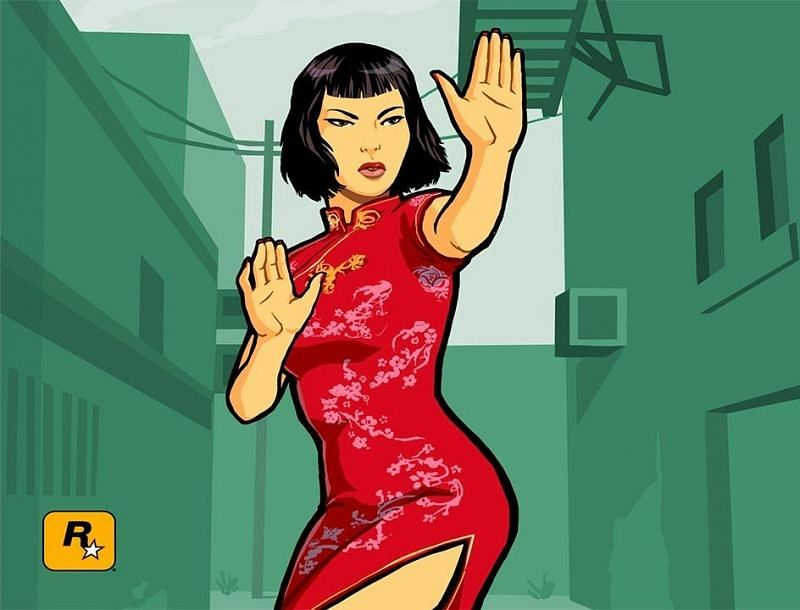 Fans theorize that Ling Shan had a more prominent role in the beta version of GTA Chinatown Wars (Image via Rockstar Games)