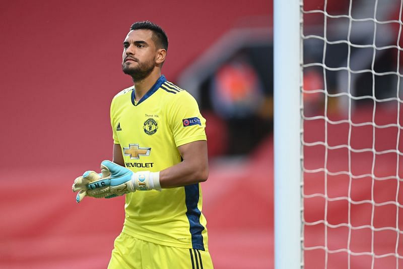 Manchester United goalkeeper Sergio Romero is out of contract at Old Trafford this summer