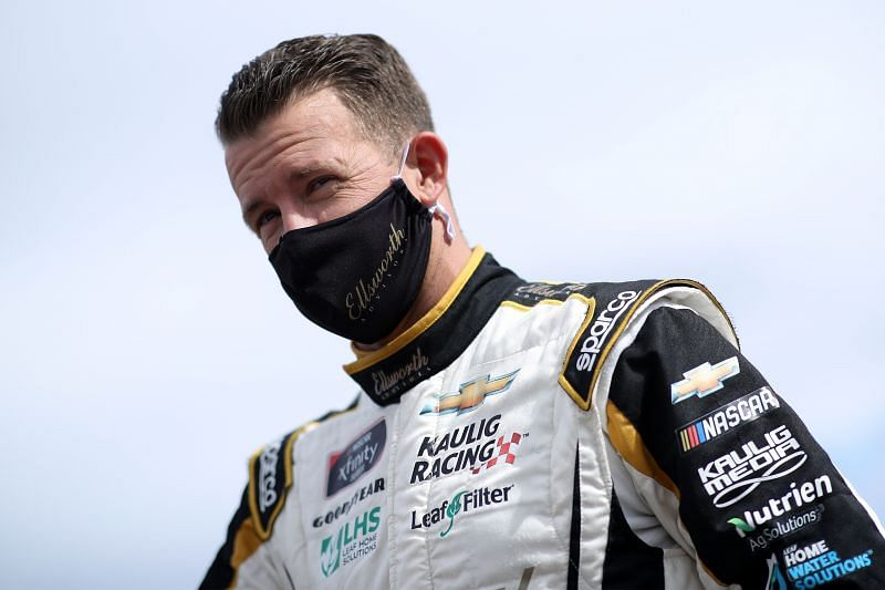 AJ Allmendinger has emerged as a contender for the 2021 Xfinity Series title. Photo: Sean Gardner / Getty Images
