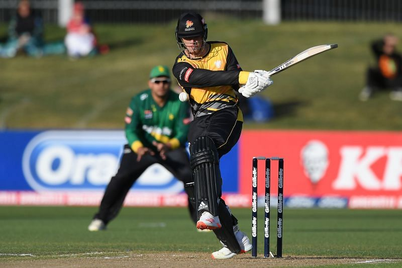 Finn Allen had a terrific 2020-21 season for Wellington Firebirds in Super Smash T20.