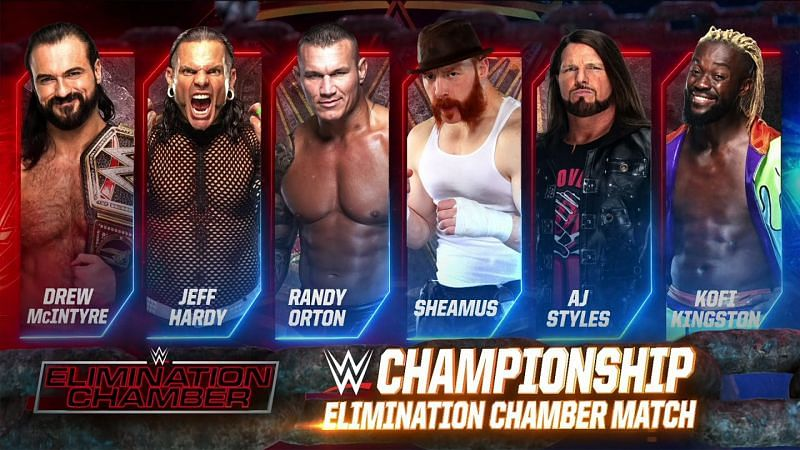 Jeff Hardy was featured in the WWE Championship Elimination Chamber match this year