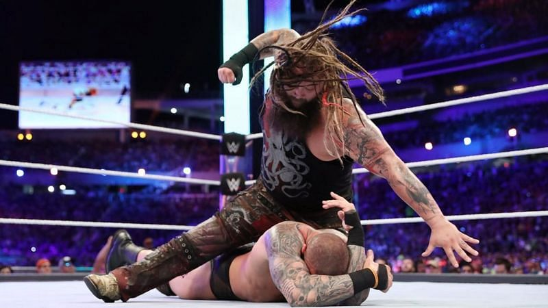 Bray Wyatt defended the WWE Championship against Randy Orton at WrestleMania 33