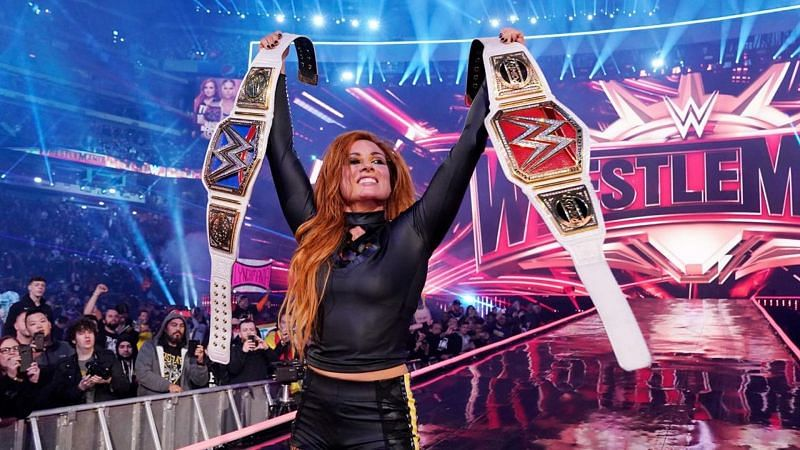 Female WWE Superstars main evented WrestleMania for the first time in WWE history in 2019