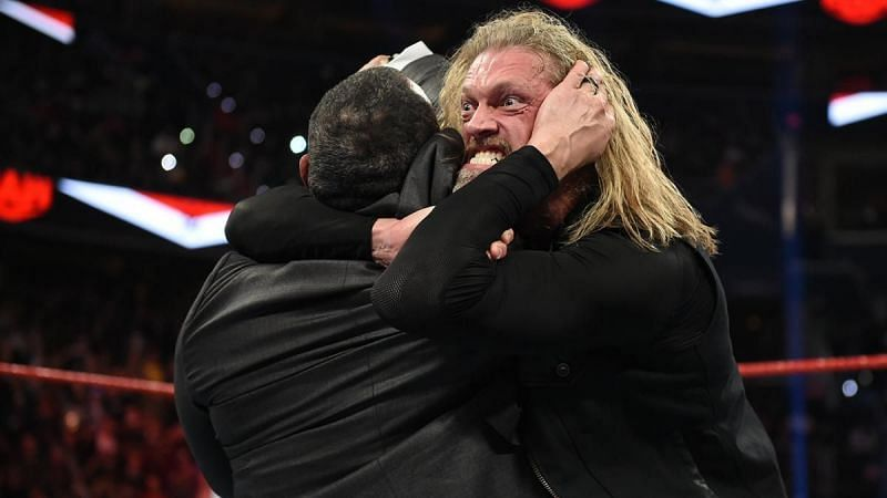 Edge had a confrontation with MVP in 2020