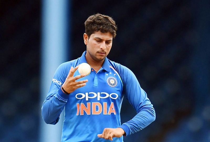 Kuldeep Yadav was the only Indian bowler to not get a wicket in the first game