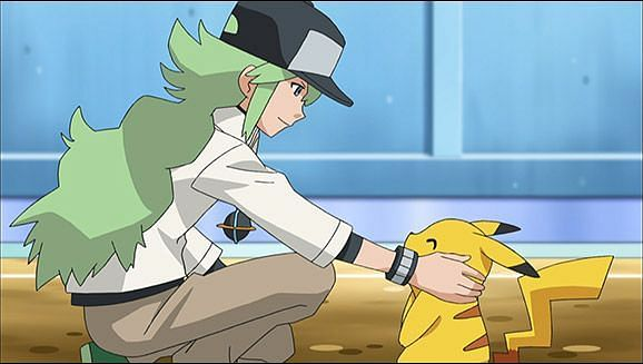 N in the anime (Image via The Pokemon Company)