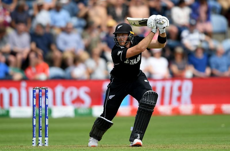 Martin Guptill has a batting average of 36.89 in Wellington