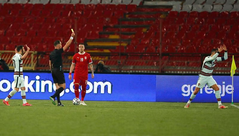 Portugal drew 2-2 with Serbia in a highly controversial match