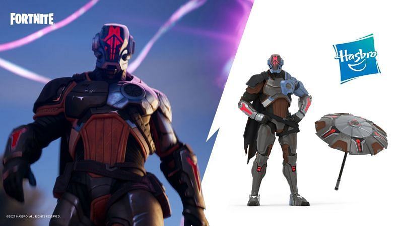 Epic Games, in collaboration with Hasbro, has unveiled a new action figure in the form of The Foundation Zero Crisis Edition (Image via Twitter)