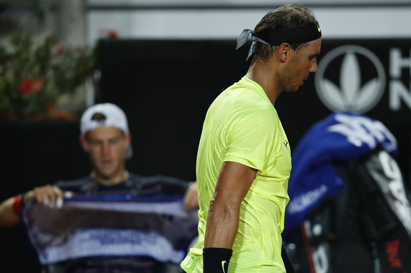 Rafael Nadal was upset by Diego Schwartzman at the 2020 Rome Masters