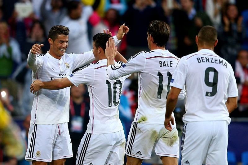 Karim Benzema often found himself playing second fiddle to Cristiano Ronaldo and Gareth Bale