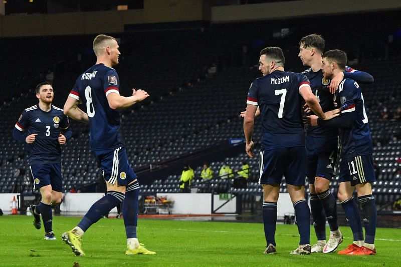 Scotland drew 2-2 with Austria in the World Cup qualifiers
