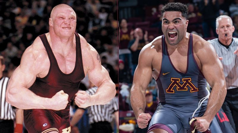 Brock Lesnar and Gable Steveson both went to the University of Minnesota