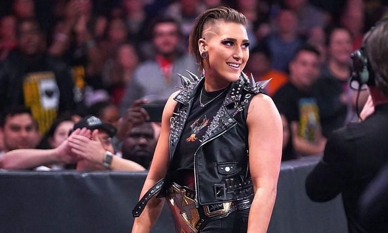 Rhea Ripley has made a huge statement on this week