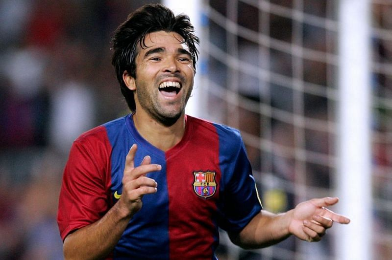 Deco played for Barcelona for four seasons.