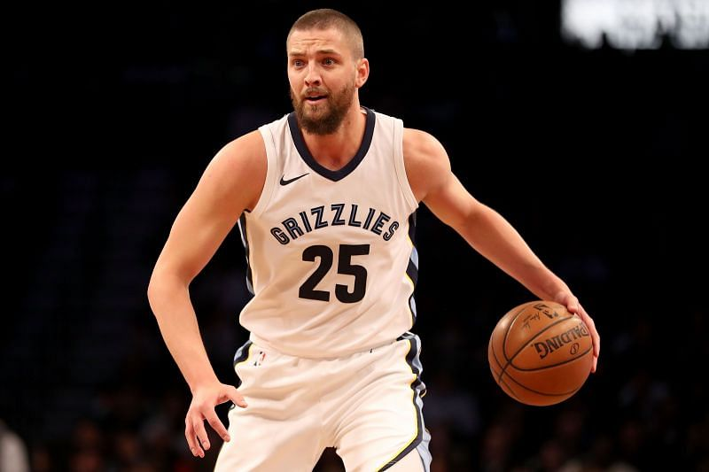 Chandler Parsons in action for the Memphis Grizzlies in the NBA